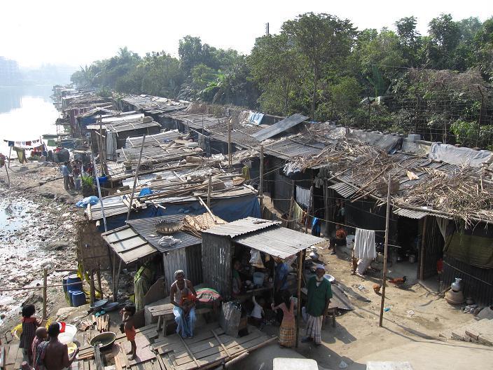 Fattigdom i Dhaka