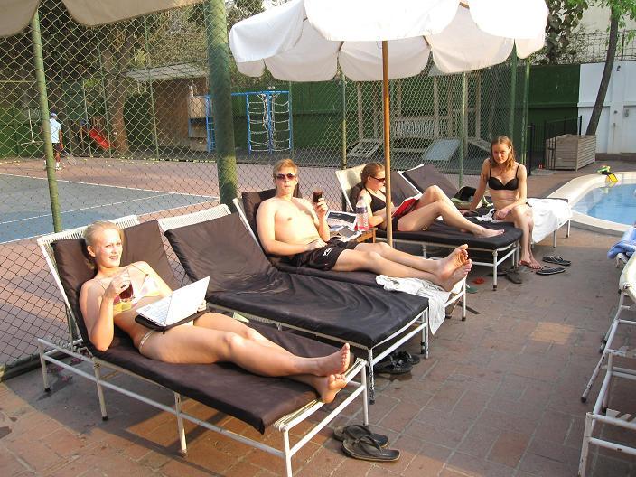 Livet nydes på Nordic Club