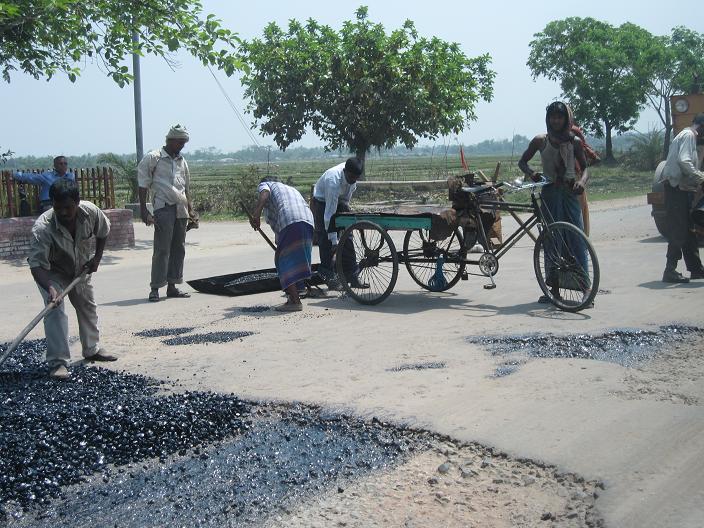 Vejarbejde i Bangladesh