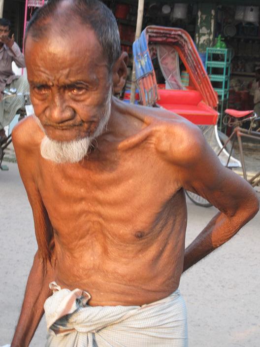 En erfaren bengalsk mand