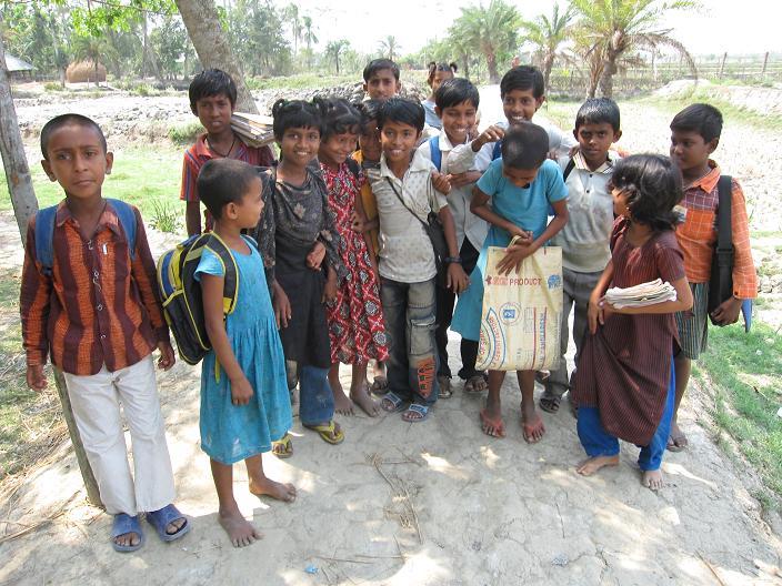 Landsbyskolebørn