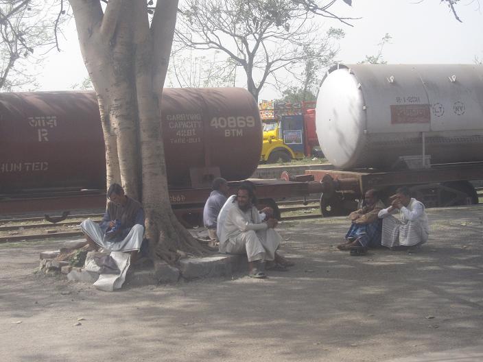 Foto fra togturen Dhaka til Saidpur