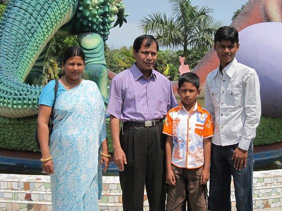 Sohan og hans familie