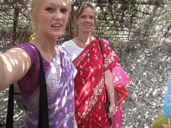 Picnic i sari