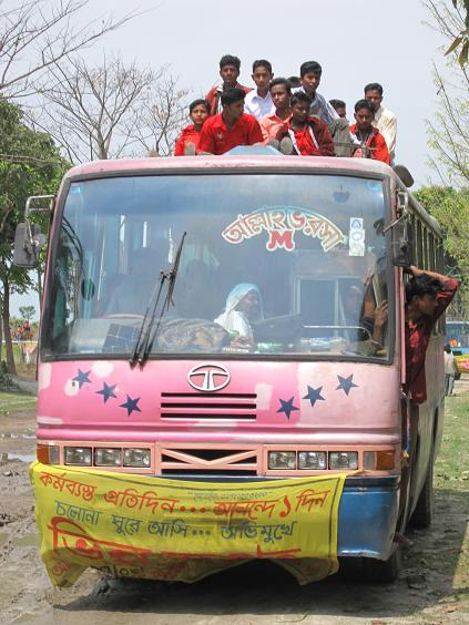Endnu en bus i forlystelsesparken