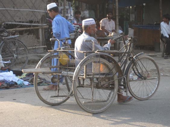 En bengalsk kørestol