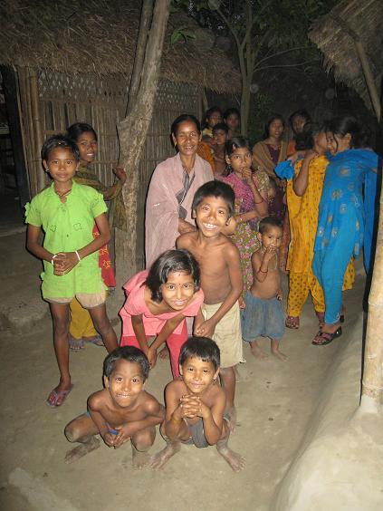 Nysgerrige landsbybeboere