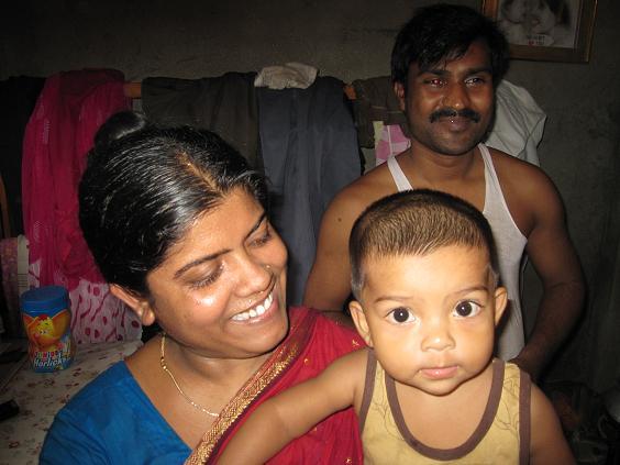 Nomita og hendes familie
