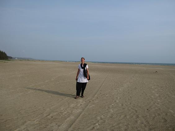 Coxs basar – hvid sandstrand så langt øjet rækker
