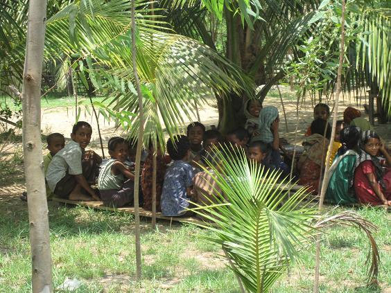 Maheskhali Island – udendørs skole