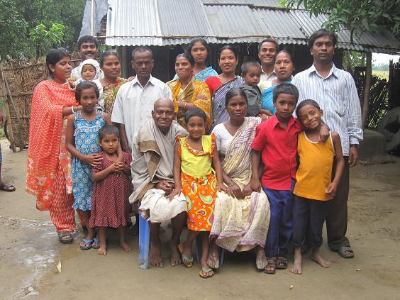 Enkemanden og hans familie