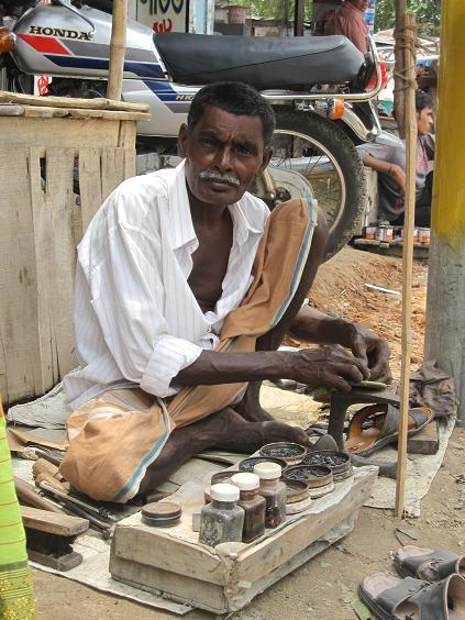En skomager i Pirganj